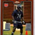 Chris Williams 2008 Topps Chrome Copper Refractor rookie card Chicago Bears