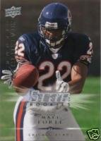 Matt Forte 2008 Upper Deck Star Rookie card Chicago Bears