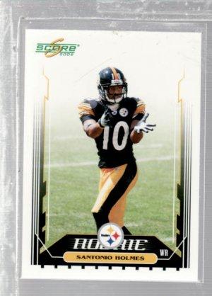 Santonio Holmes 06 Score rookie card Pittsburgh Steelers Super Bowl MVP