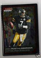 Ben Roethlisberger 06 Bowman Chrome Pittsburgh Steelers
