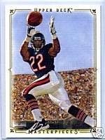 Matt Forte 08 Upper Deck Masterpieces rookie card Chicago Bears
