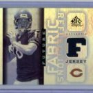Kyle Orton 05 UD Reflections Fabric Sensations jersey card Denver Broncos