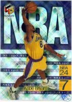 Kobe Bryant 99Upper Deck HoloGrfx 24/7 insert card Los Angeles Lakers