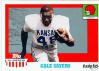 Gale Sayers 05 Topps All American Kansas / Chicago Bears