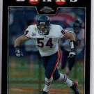 Brian Urlacher 08 Topps Chrome Xfractor #115 Chicago Bears