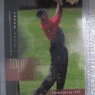 01 Upper Deck Tiger Woods Tour Time card