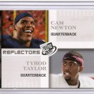 2011 Graduating Class Cam Newton / Tyrod Taylor Reflector rookie card Carolina Panthers