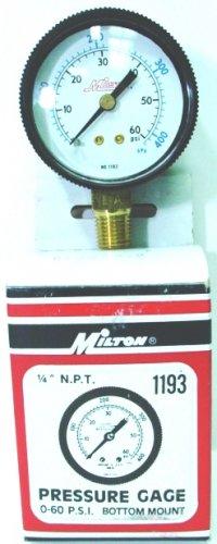 PRESSURE GAGES 1193 MILTON