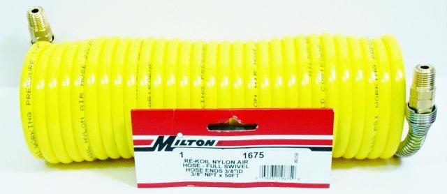 NYLON RE-KOIL AIR HOSE 1675 MILTON