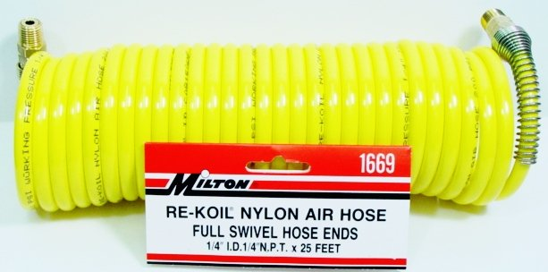NYLON RE-KOIL AIR HOSE 1669 MILTON