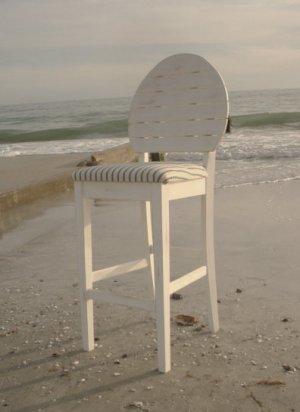 Coastal Beach Barstool
