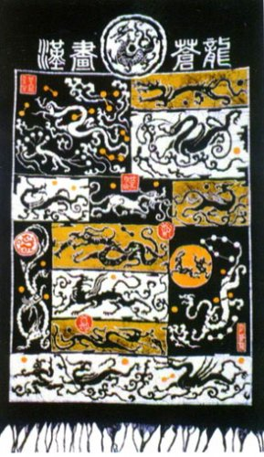 Batik for the wall hanging 04