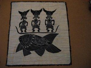 Batik for wall hanging05