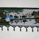 chinese batik art  mural painting - tiller return