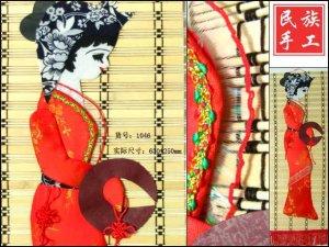 chinese batik art  mural painting -curtain mural of Dai nationality