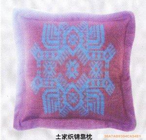 Embroider art backrest pillow02