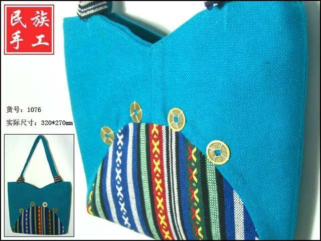 pure handicraft art ,brede handbag004