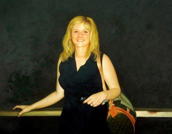 Women-oil painting