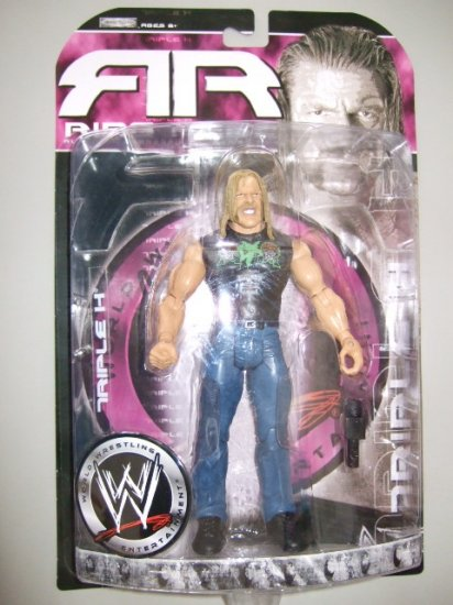 WWE Ruthless Aggression Ring Rage 24.5 - Triple H Action Figure DX