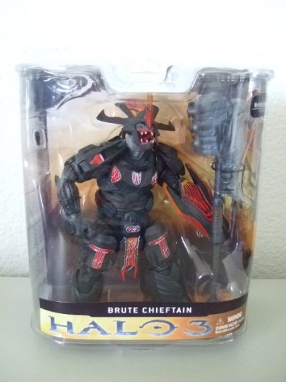 McFarlane Halo 3 Series 1 - Brute Chieftan Action Figure XBOX 360