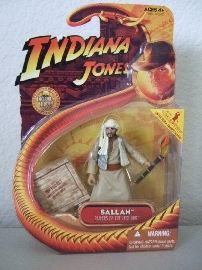 Indiana Jones Raiders Of The Lost Ark - Sallah Kingdom Of The Crystal Skull Action Figure