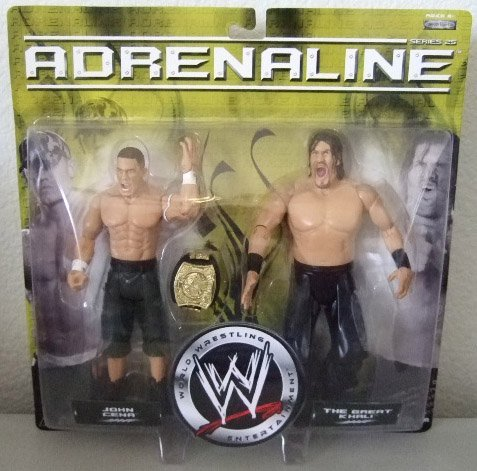WWE Adrenaline 25 - John Cena & The Great Khali Action Figure 2-Pack