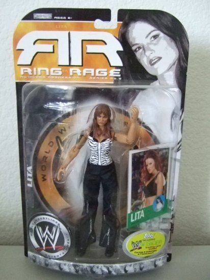 WWE Ruthless Aggression Ring Rage 22.5 - Lita Action Figure
