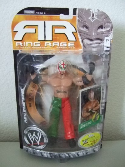 WWE Ruthless Aggression Ring Rage 22.5 - Rey Mysterio Action Figure