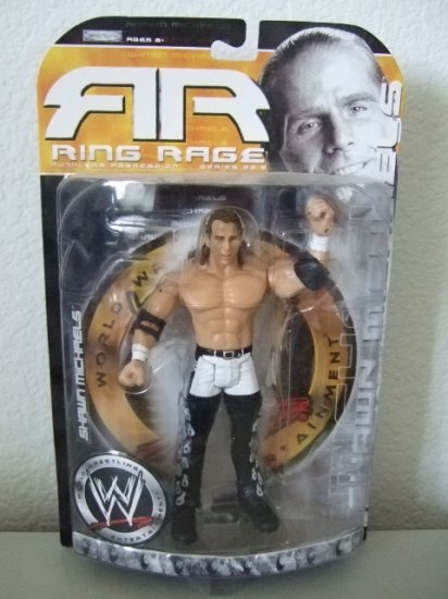 WWE Ruthless Aggression Ring Rage 22.5 - Shawn Michaels Action Figure