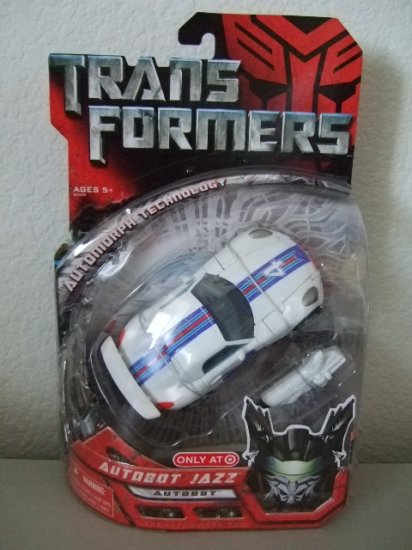 Transformers the Movie Deluxe Class - Jazz G1 Paint Deco Retail Exclusive Action Figure