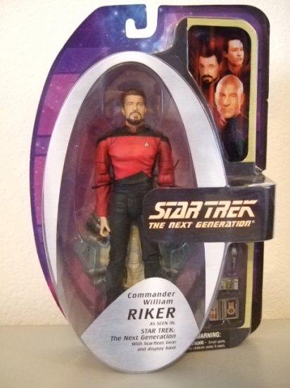 Star Trek The Next Generation - Commander William Riker (Season 7) Action Figure
