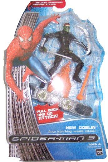 Marvel Spider-Man 3 Movie - New Goblin Action Figure