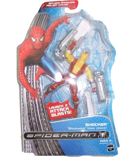 Marvel Spider-Man 3 Movie - Shocker Action Figure