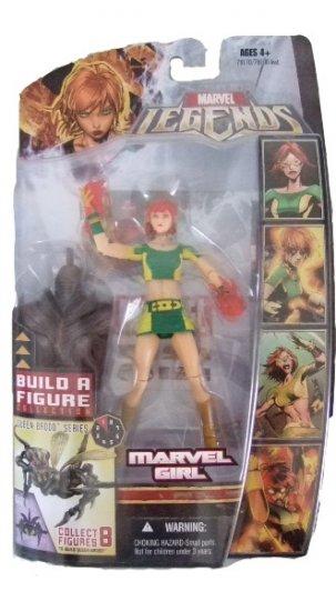 Hasbro Marvel Legends Series 3 - Marvel Girl Action Figure