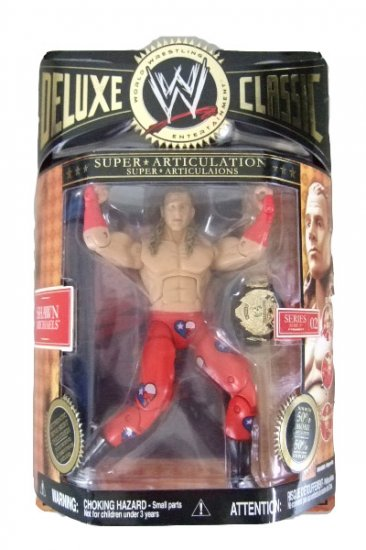 WWE Deluxe Classic Series 2 - Shawn Michaels Action Figure