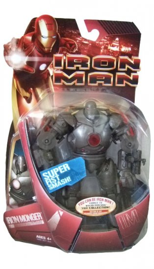 Marvel Iron Man Movie - Iron Monger (Red Repulsor) Action Figure