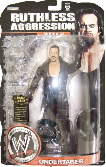 WWE Ruthless Aggression Series 32 - Undertaker Action Figure Ring Rage