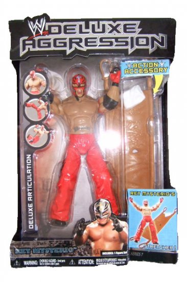 WWE Deluxe Aggression Series 7 - Rey Mysterio Action Figure ECW WCW