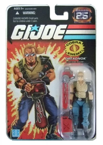 GI Joe 25th Anniversary Wave 2 - Dreadnok Buzzer Action Figure