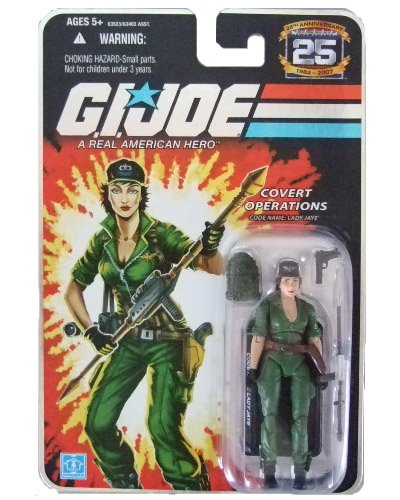 GI Joe 25th Anniversary Wave 2 - Lady Jaye Action Figure
