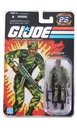 GI Joe 25th Anniversary Wave 3 - Sgt. Stalker(Green Camo) Action Figure