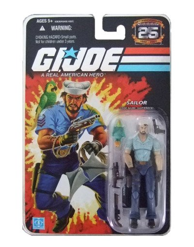 GI Joe 25th Anniversary Wave 3 - Shipwreck Action Figure