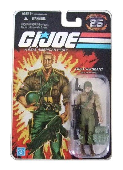 GI Joe 25th Anniversary Wave 4 - Duke Action Figure