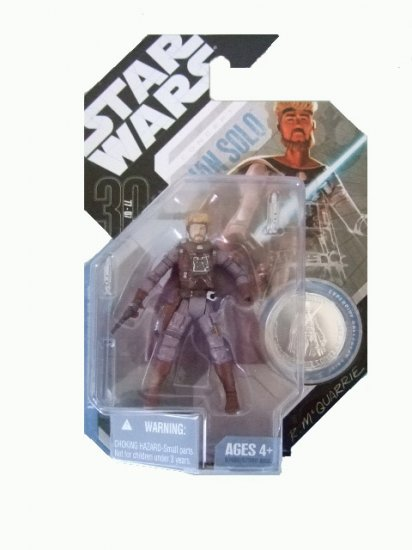 Star Wars 30th Anniversary Wave 7 - Mcquarrie Concept Han Solo Action Figure