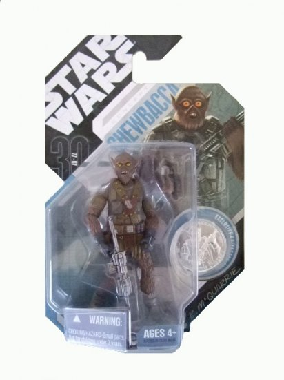 Star Wars 30th Anniversary Wave 3 - Mcquarrie Concept Chewbacca Action Figure