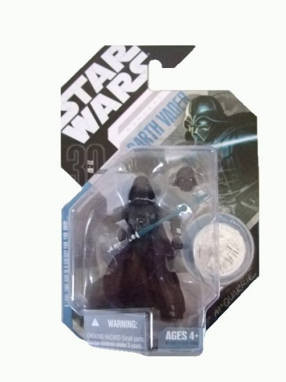 Star Wars 30th Anniversary Wave 4 - Mcquarrie Concept Darth Vader Action Figure