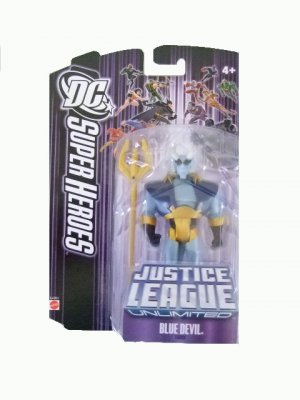 DC SuperHeroes: Justice League Unlimited - Blue Devil Action Figure