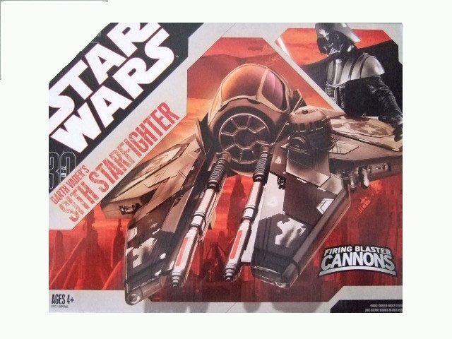 Star Wars 30th Anniversary - Darth Vader's Sith Starfighter Vehicle