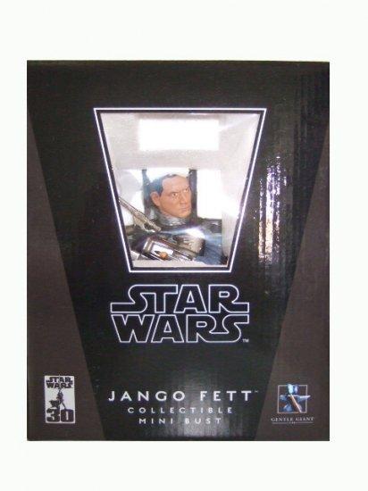Star Wars Gentle Giant Attack of the Clones - Jango Fett Bust