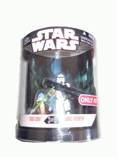 Star Wars 30th Anniversary Order 66 Series 2 - Tsui Choi & Barc Trooper Action Figure 2-pack